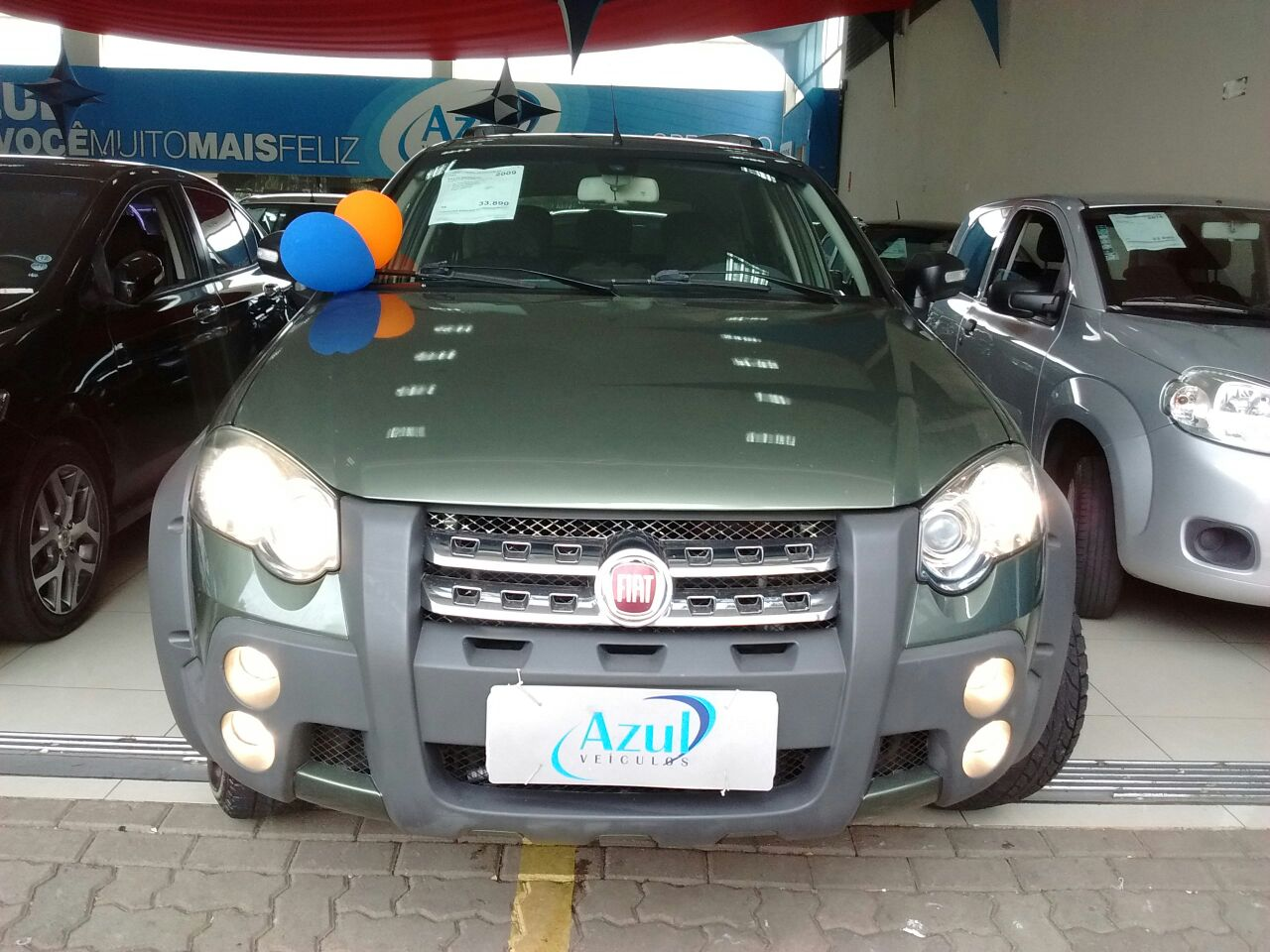 FIAT PALIO WEEKEND ADVENTURE LOCKER 1.8 8V FLEX