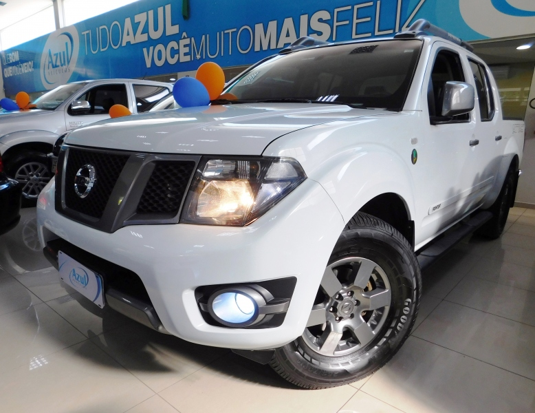 NISSAN FRONTIER CAB.DUPLA SV ATTACK(10 Anos) 4X4 MT 2.5